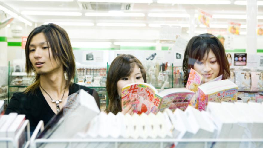 Japón es el país con el índice de lectura más alto del mundo.