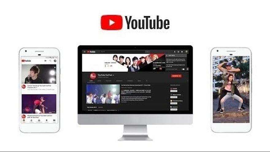 Aplicación de YouTube.
