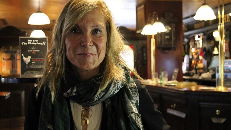 Pilar Eyre, finalista del Premio Planeta 2014. / Juan Miguel Baquero