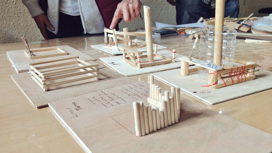 Maquetas de propuestas para los futuros jardines en alcorques | SOMOS MALASAÑA