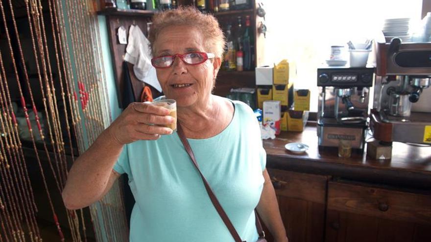 Josefa Hernández este viernes, tras salir el jueves de la prisión (EFE/Carlos de Saá)