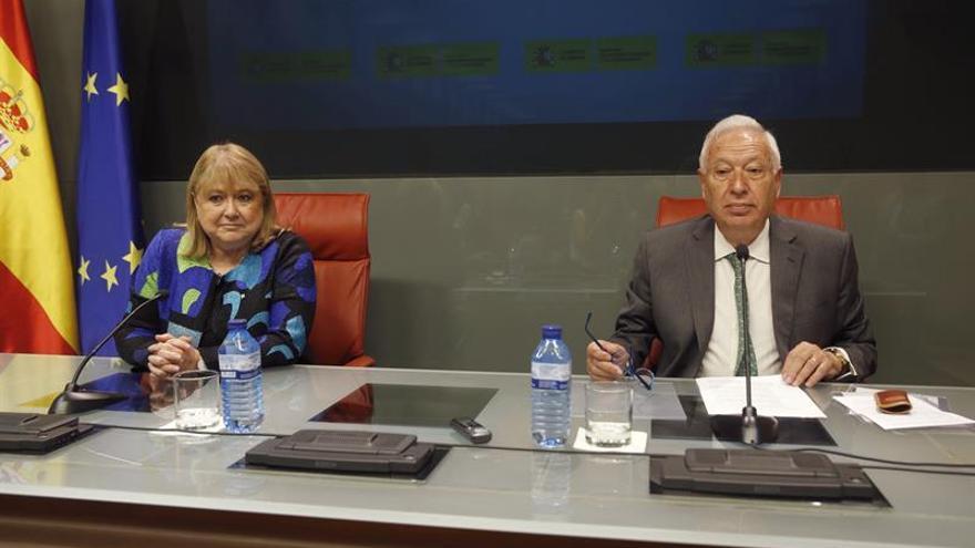 Margallo: si el R.Unido acepta la cosoberanía, la seguridad sería total para el Peñón