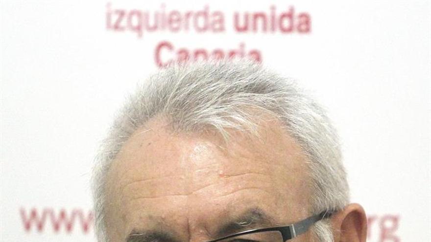 El coordinador federal de Izquierda Unida, Cayo Lara.. EFE/Cristóbal García
