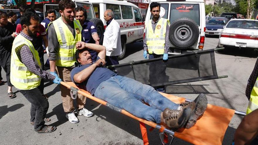 Se elevan a 21 los muertos en un doble atentado en Kabul