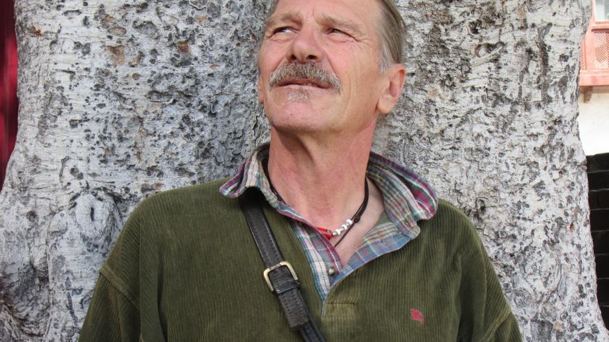 Ricardo Ciuffardi padece una hepatitis C desde hace 30 años. Foto: LUZ RODRÍGUEZ.