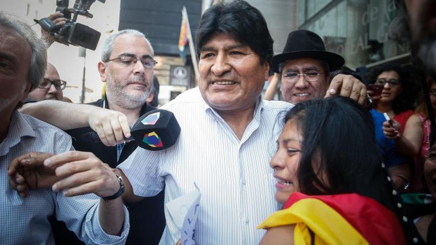 """Evo Morales no tiene miedo """"a la detención"""" y reitera que no será candidato"""