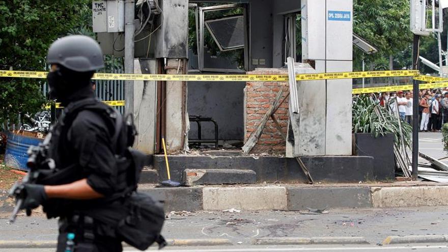 La Policía de Indonesia neutraliza una bomba en la turística isla de Bali
