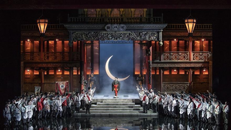Ensayo general de la obra 'Turandot', de Puccini.