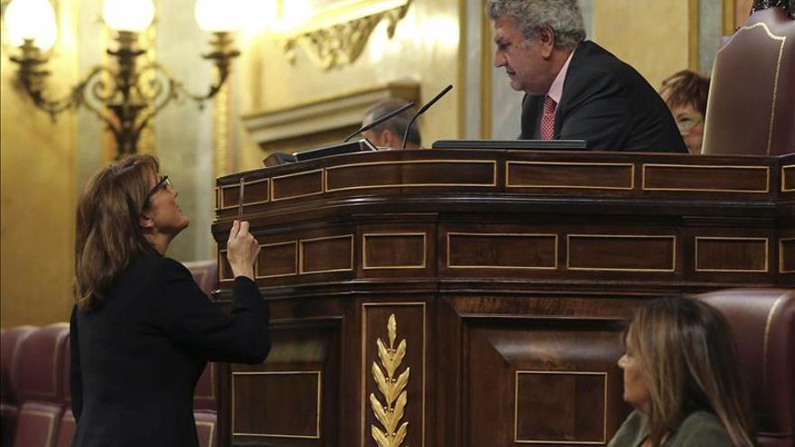 El PP rechaza en el Congreso el cese de Federico Trillo y de Alfonso Rus