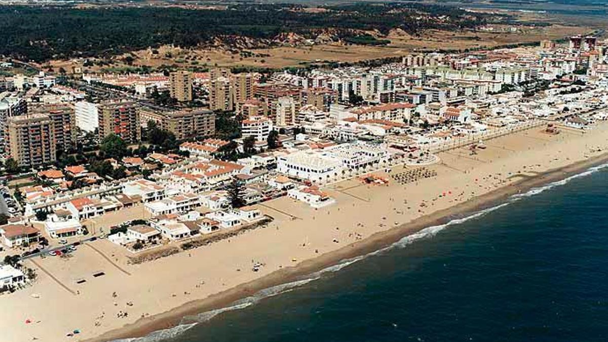 Imagen de la playa de La Antilla, en el municipio de Lepe