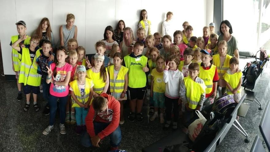 Sesenta menores procedentes de Chernóbil y de familias desestructuradas llegan a Euskadi para pasar el verano