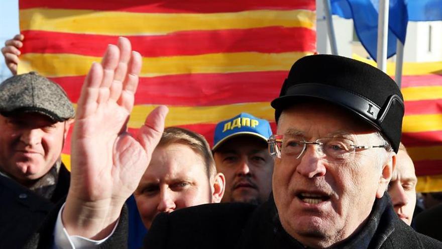 El ultra Zhirinovski apoya la independencia de Cataluña frente al consulado español