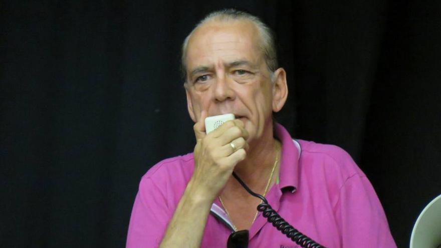 Manuel Fitas, exresponsable de la Federación de Hostelería y Turismo de Canarias  (Facebbok 'Los Rebeldes De Ccoo Canarias')