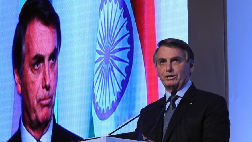 El Bolsonaro más neoliberal subraya en India las oportunidades de inversión
