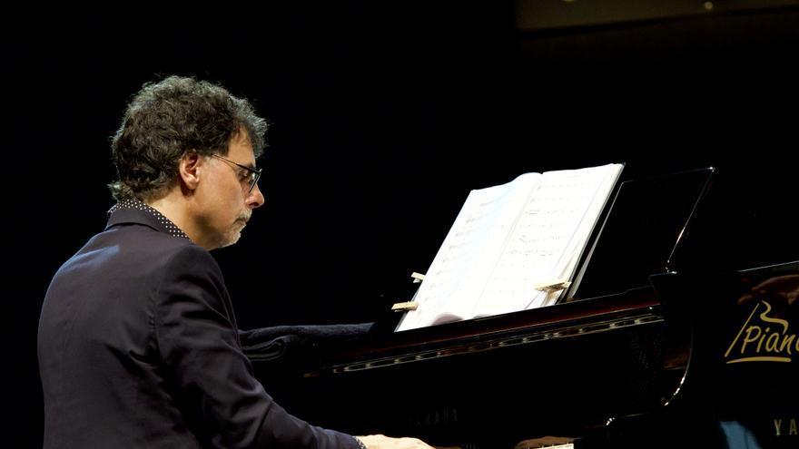 El pianista y líder del cuarteto catalán Jaume Vilaseca/  GOIO VILLANUEVA