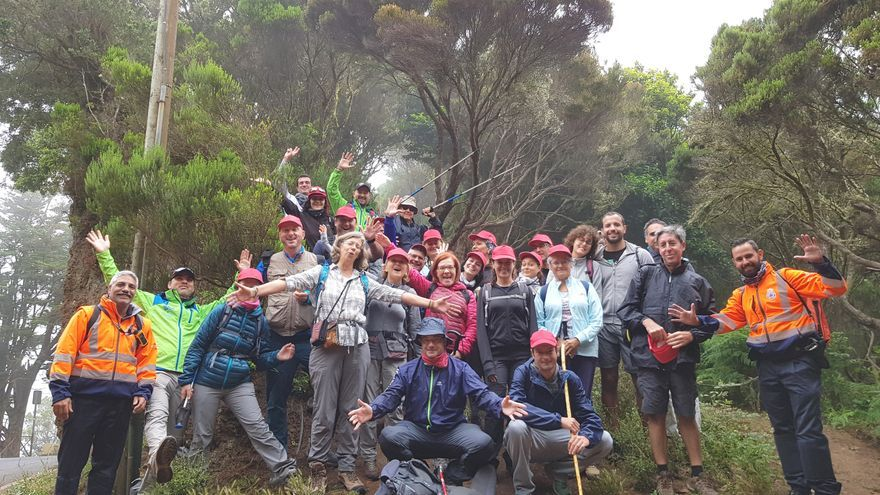 La Fundación Cepsa promueve la actividad en la naturaleza con las rutas guiadas 'Anaga a pie'