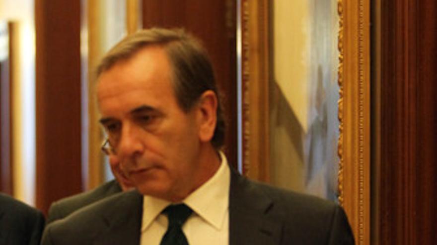 Portavoz parlamentario del PSOE, José Antonio Alonso,