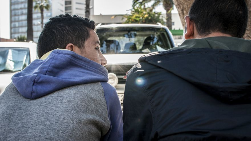 EHassan y Mohamed viven juntos en un piso con otros chicos en la misma situación.jpg/J. Blasco de Avellaneda