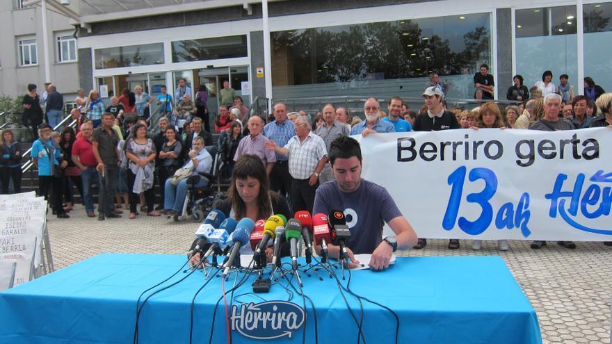 """Herrira pide la """"inmediata"""" libertad de Uribetxebarria y anuncia que seguirá movilizándose por los otros presos enfermos"""