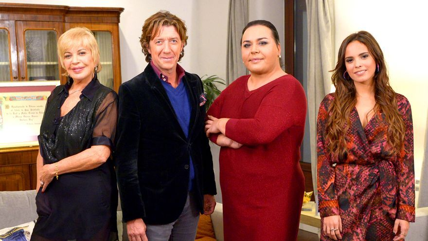 "Bárbara Rey, Colate, Falete y Gloria Camila, en""Ven a cenar conmigo"""