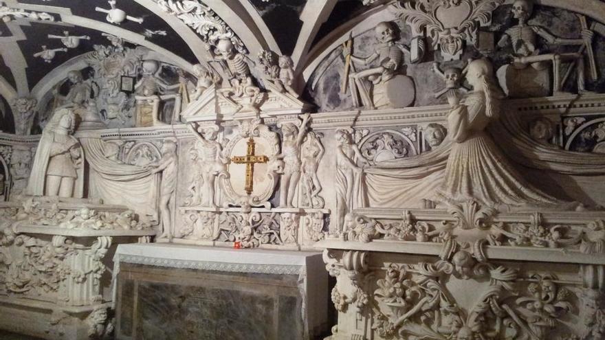 Cripta de la Victoria, en Málaga.