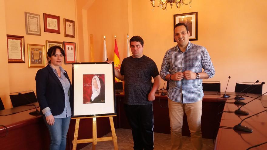 Presentación, este lunes, del cartel de Semana Santa de Breña Alta.