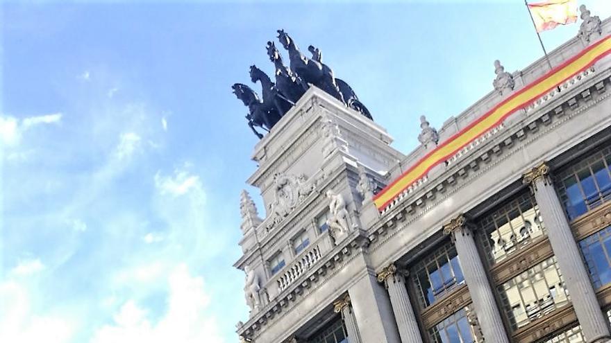 Virgilio Fernández, en Madrid, 81 años después de iniciada la guerra civil. | ANA ORDAZ