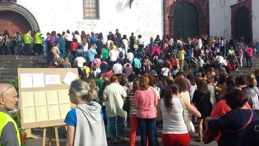 Un total de 602 opositores se presentaron a los exámenes este sábado.