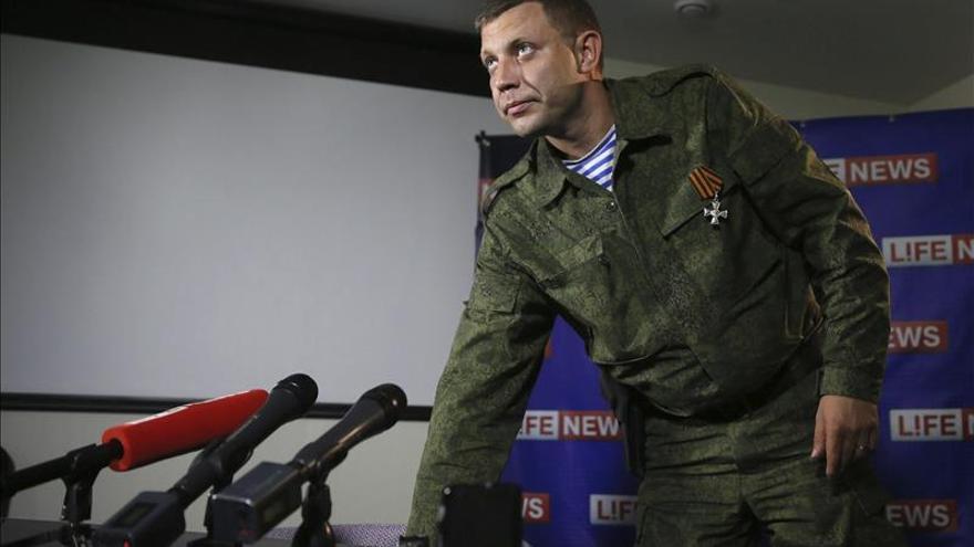 Zajárchenko y Plotnitski, elegidos líderes separatistas en Donetsk y Lugansk
