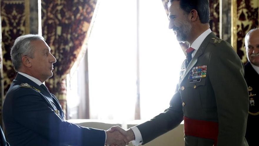 El Rey recibe al máximo responsable de la Guardia di Finanza italiana