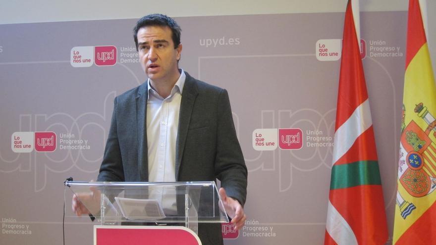 El vasco Gorka Maneiro se postula para ser el candidato de UPyD en las elecciones generales