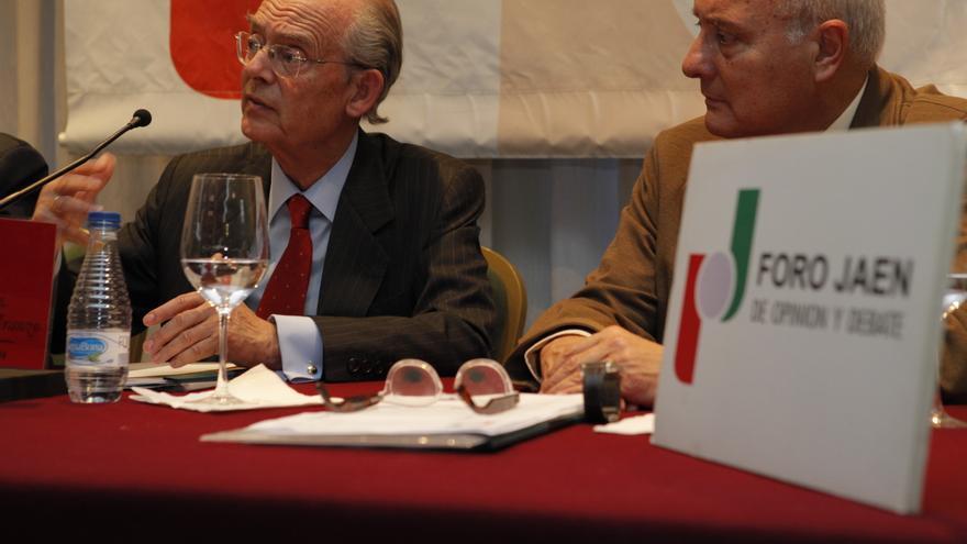 Ignacio Busqueras, durante una conferencia pronunciada recientemente en Jaén.