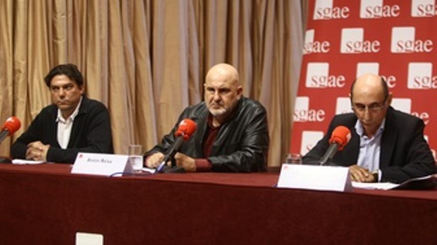 Anton Reixa, Manuel Marvizón Y Antonio Onetti, RDP De La SGAE