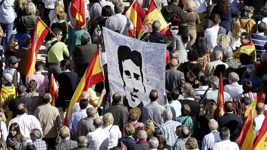 Decenas de homenajes a Miguel Ángel Blanco 19 años después de su asesinato