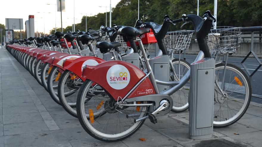 Sistema de Sevici, en Sevilla. Obtenida de Flickr, CC.