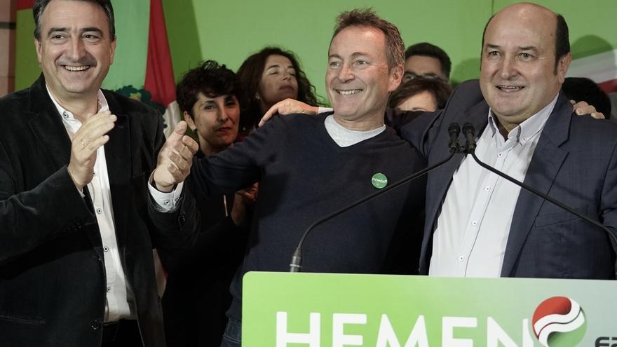 """Ortuzar (PNV) pide un nuevo tiempo de """"soluciones"""" y una """"mínima unidad"""" para defender la democracia ante Vox"""
