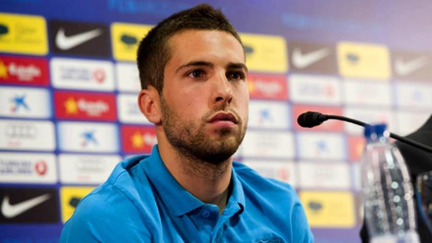 """Jordi Alba amenaza a un periodista español: """"Te arranco la cabeza"""""""