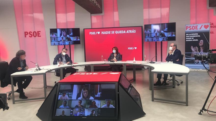 Encuentro con los alcaldes socialistas de la Comunidad de Madrid