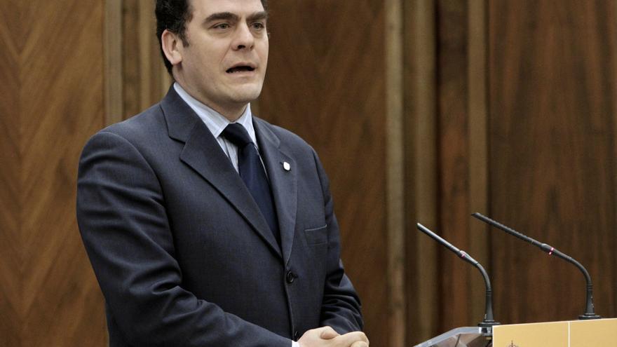 El alcalde de Leganés en 2011, Rafael Gómez Montoya.