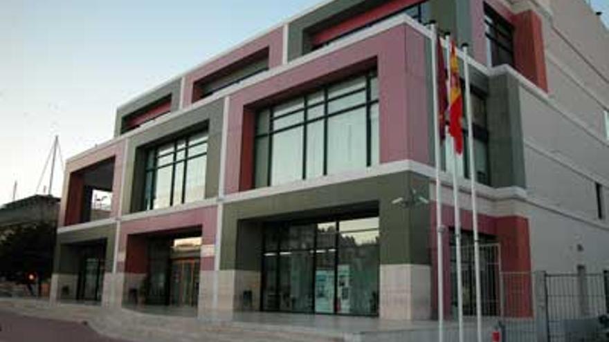 Edificio de la Biblioteca Regional de Murcia