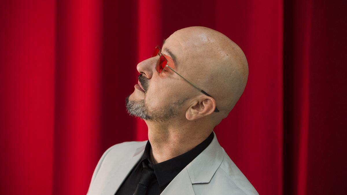 El compositor y voz solista de Los Coquillos, Ginés Cedrés.