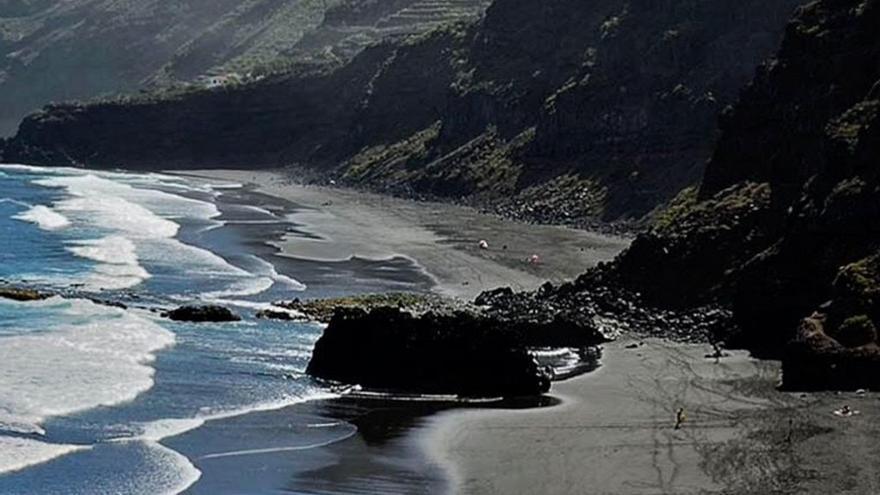Imagen de archivo de la playa de Los Patos, en La Orotava