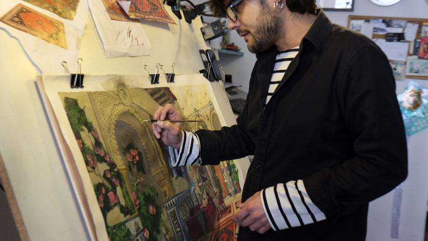 La pintura el dibujo y la ilustracin conllevan un trabajo muy