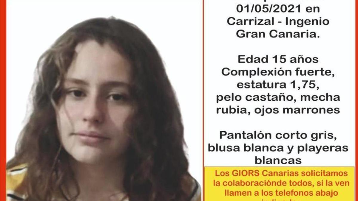 Nixie Santana Diepa, niña desaparecida en Gran Canaria
