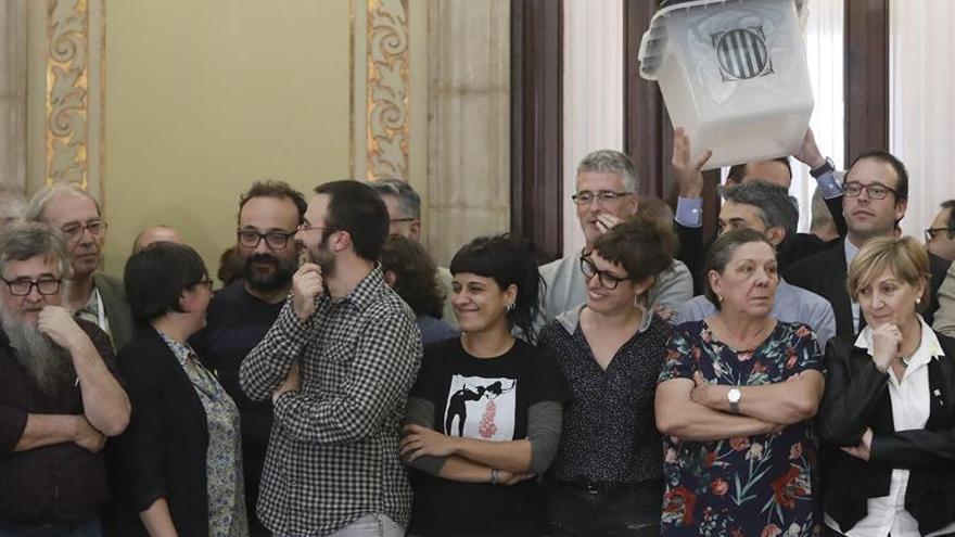 """La CUP descarta la """"lista única"""" para el 21D y decidirá entre cuatro opciones"""