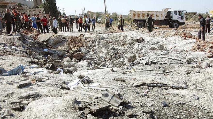 Al menos seis muertos y decenas de heridos en un atentado con coche bomba en Homs