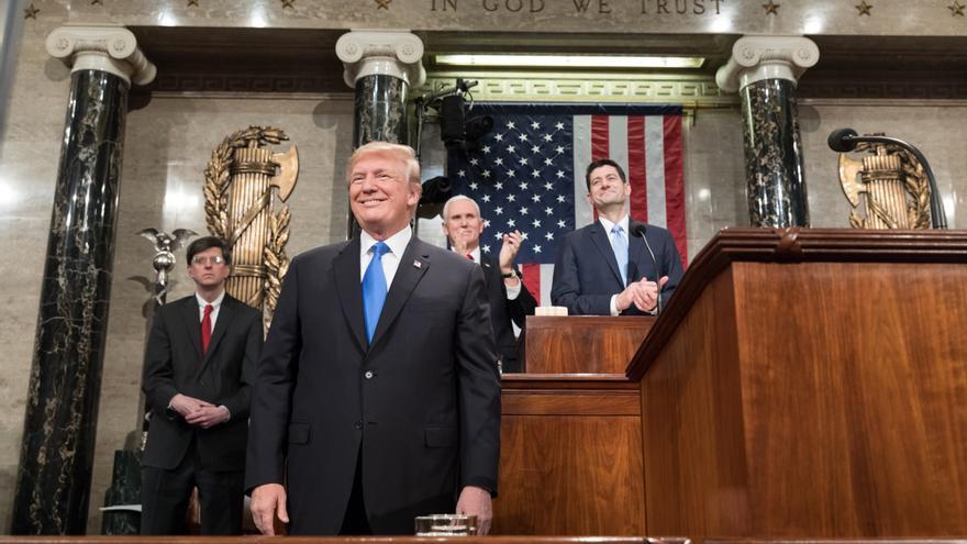 Donald Trump, en la Cámara de Representantes / Flickr Casa Blanca
