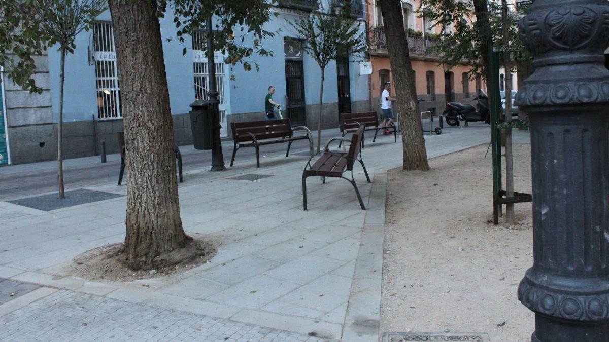 Nuevo mobiliario de la plazuela de la Memoria Trans | SOMOS CHUECA