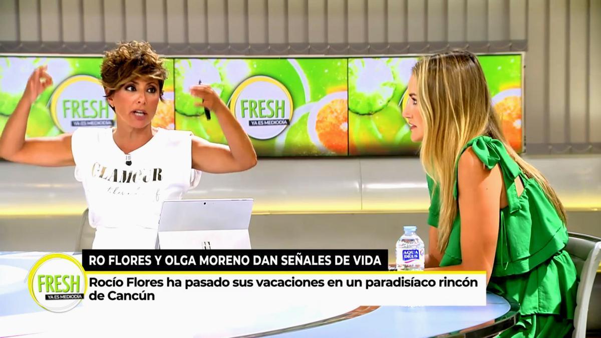 Sonsoles Ónega reprocha a Alba Carrillo sus críticas a 'Ya es mediodía'