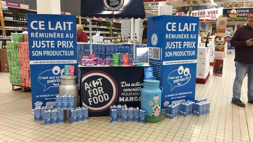 'C'est qui le patron?': la marca de leche que simboliza el auge contra el capitalismo salvaje en Francia